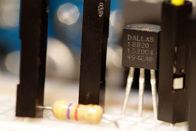 Temperatursensor mittels Arduino auslesen